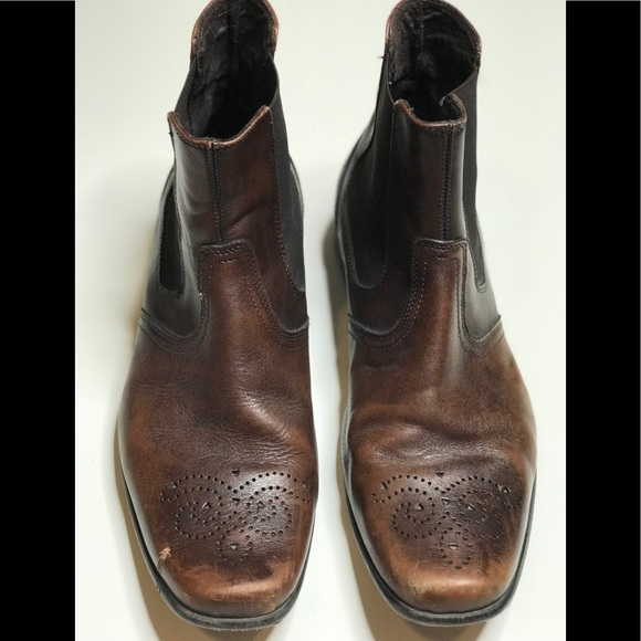 Kenneth Cole Reaction Other - Kenneth Cole Reaction Men's Leather Ankle Boot 8.5